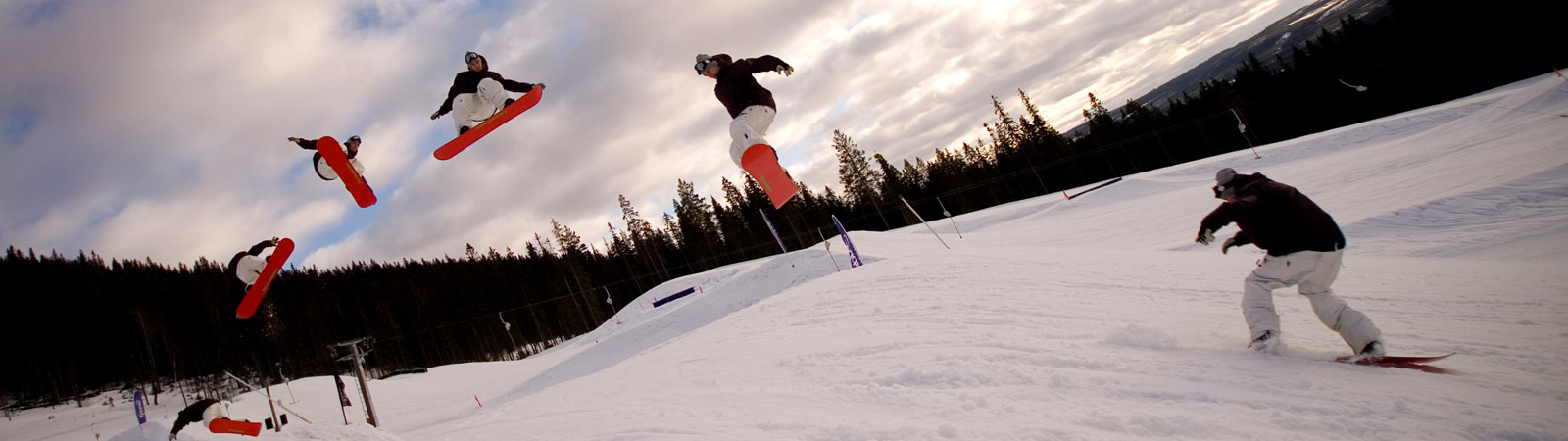 Snowboarding Terrain Park Design