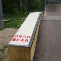 hubba ledge skateboarding bmx skate ramps gnarbear