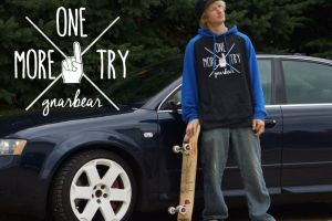 One More Try Pullover Hoodie