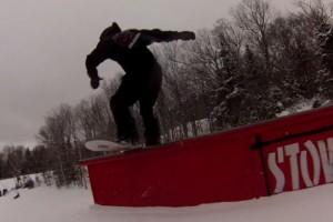 gnarbear aiden chmura snowboarding ramps rails apparel