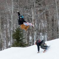snowboarding method gnarbear stowe