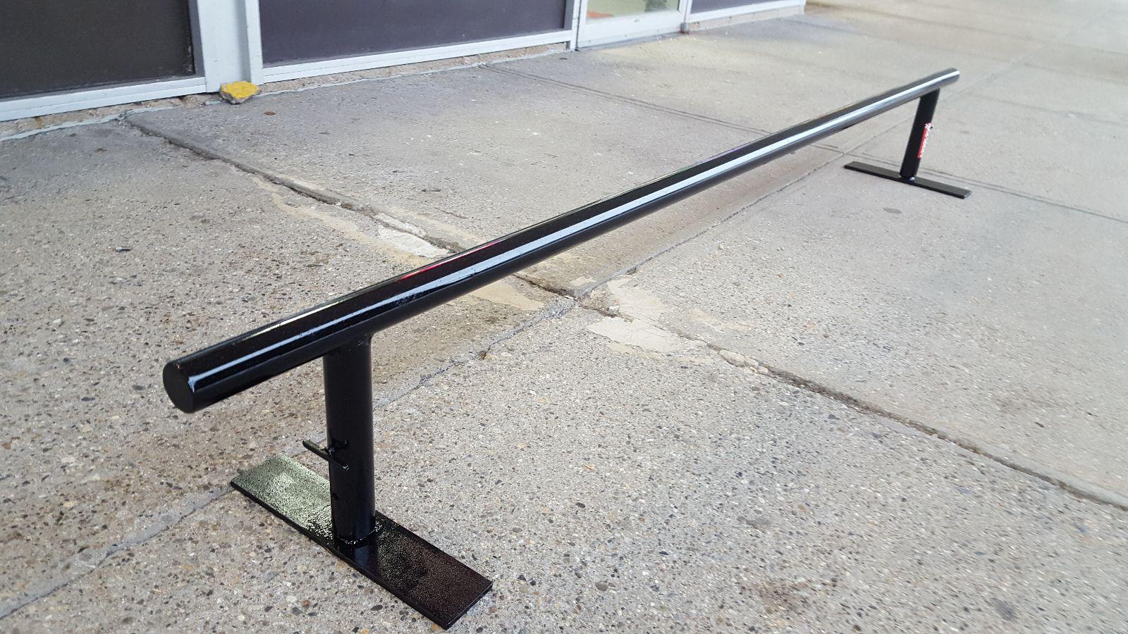 gnarbear 8 foot flatbar grind rail gnarbear