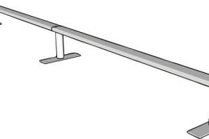 skateboarding rail flatbar grind bmx gnarbear