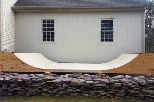 gnarbear skateboarding ramp skateboard halfpipe half pipe