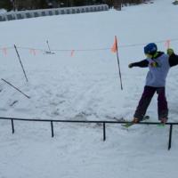 Rail urban gnarbear hoodie snowboarding skiing box grind skateboarding